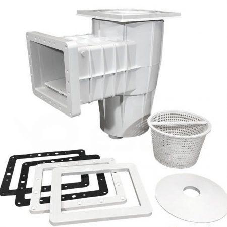 Các bộ phận của hộp thu nước bể bơi SKS.C