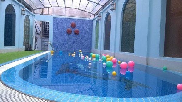 Sản phẩm giúp không gian bể bơi luôn sạch đẹp, an toàn vệ sinh