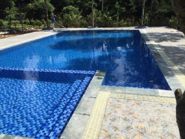 Rất nhiều khách hàng sử dụng thiết bị hồ bơi do Khương Thịnh cung cấp