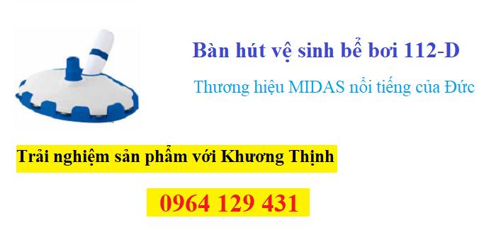 Bàn hút 112-D có sẵn tại công ty hồ bơi Khương Thịnh