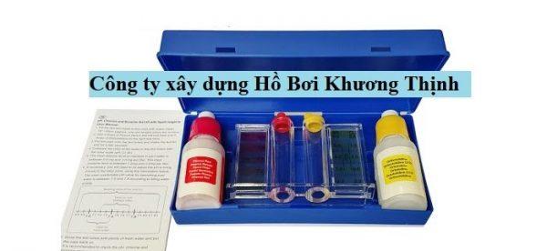 Bộ test nước chính hãng giá tốt tại Khương Thịnh