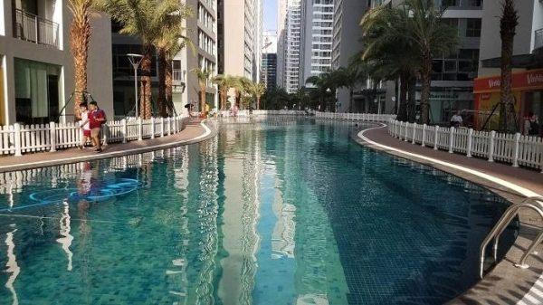 Một mẫu công trình hồ bơi do Khương Thịnh thi công