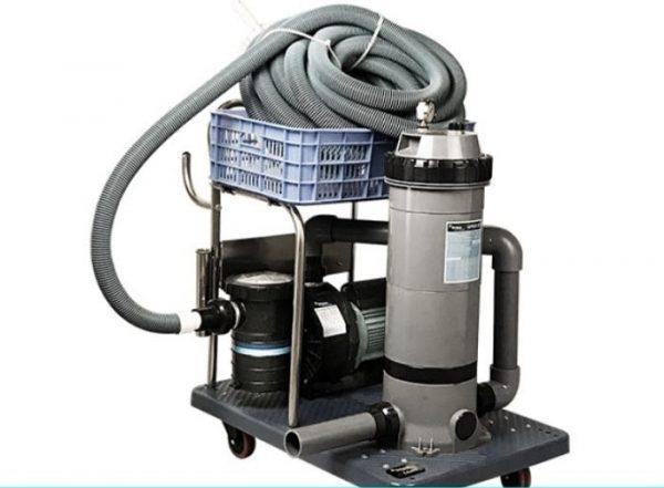 Ống hút mềm 8688BU được kết hợp với nhiều loại thiết bị khác để đem lại hiệu quả vệ sinh tốt nhất