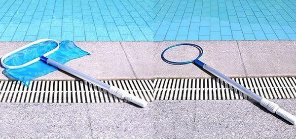 Cách sử dụng sào nhôm vệ sinh hồ bơi hiệu quả