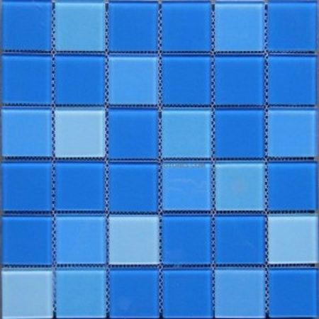 Gạch hồ bơi Mosaic Thủy Tinh M-13