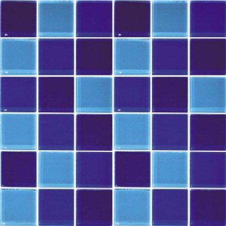 Gạch hồ bơi Mosaic Thủy Tinh M-14