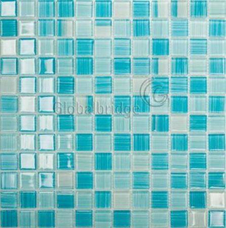 Gạch hồ bơi Mosaic Thủy Tinh M-16