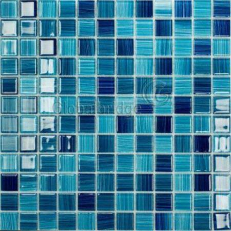 Gạch hồ bơi Mosaic Thủy Tinh M-17