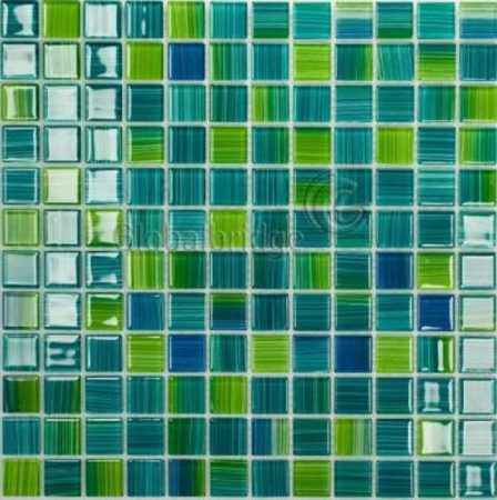 Gạch hồ bơi Mosaic Thủy Tinh M-19