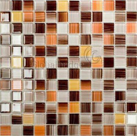Gạch hồ bơi Mosaic Thủy Tinh M-20