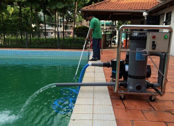 Nguyên nhân nước hồ bơi đục