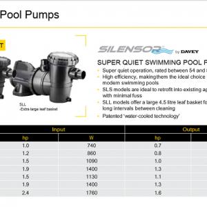 may bom super quiet swimming pool pump