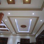 Trát mẫu phào chỉ trần nhà bằng xi măng
